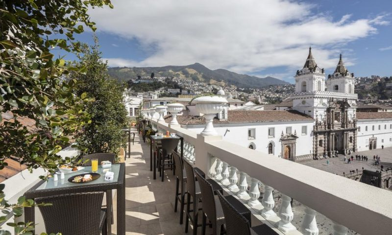 Hotel Casa Gangotena Quito
