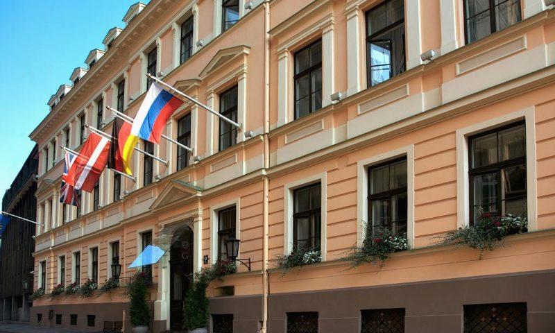 Grand Palace Hotel Riga